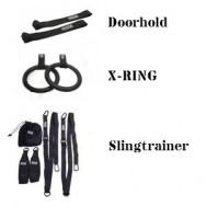 Pakke: Slingtrainer, doorhold og x-ring